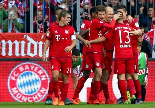 Kemenangan Berturut-turut Bayern Munchen
